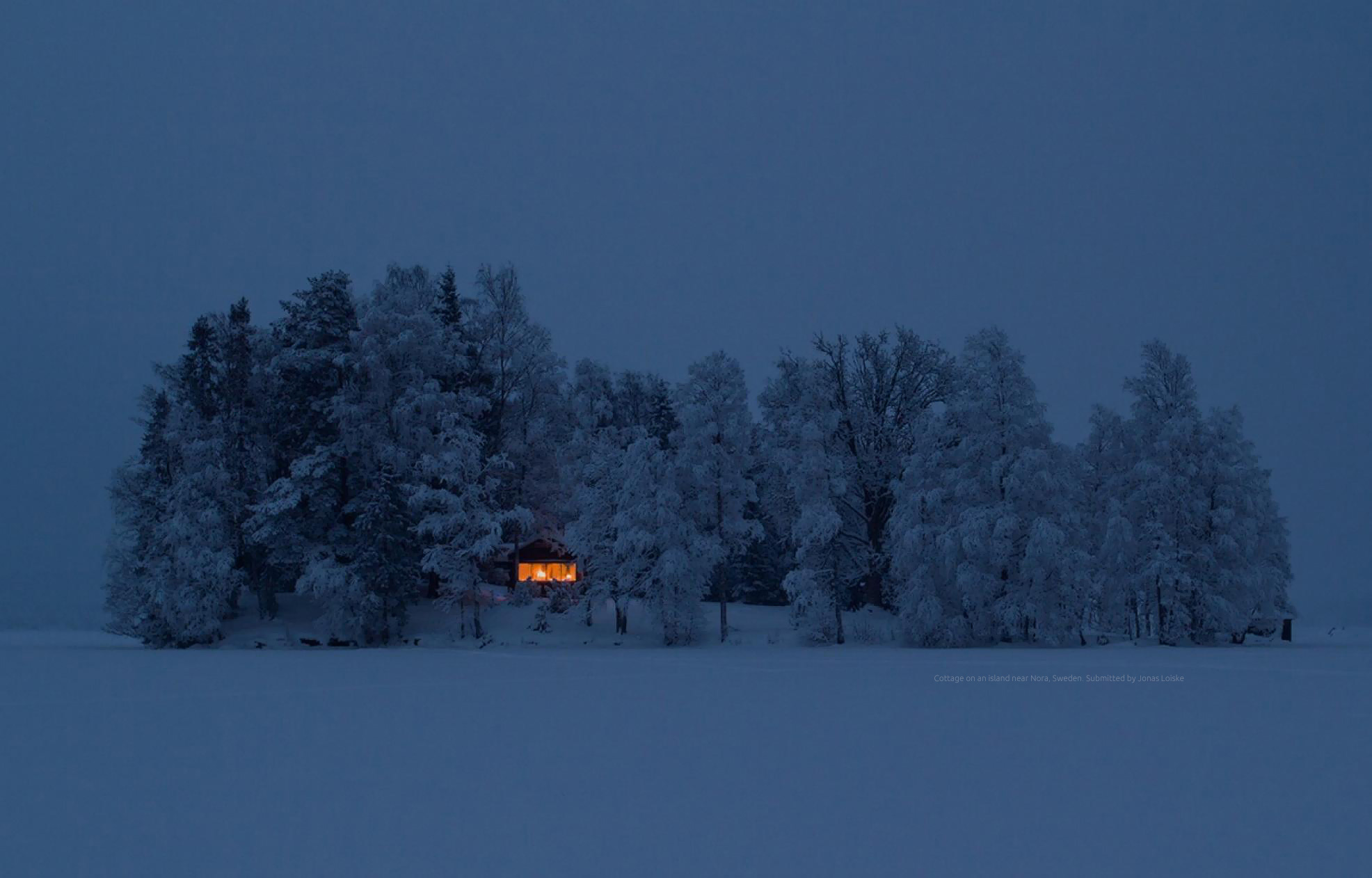 Cottage on an island near Nora,>> Sweden.>> Submitted by Jonas Loiske